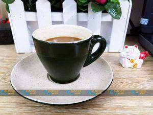 Ly cà phê Espresso màu đen
